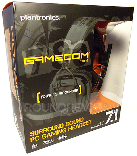Plantronics Gamecom 780 Gaming Headset Featured