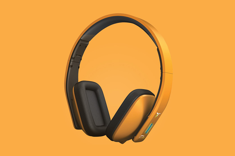 iT7x2 Headphones Featured Orange
