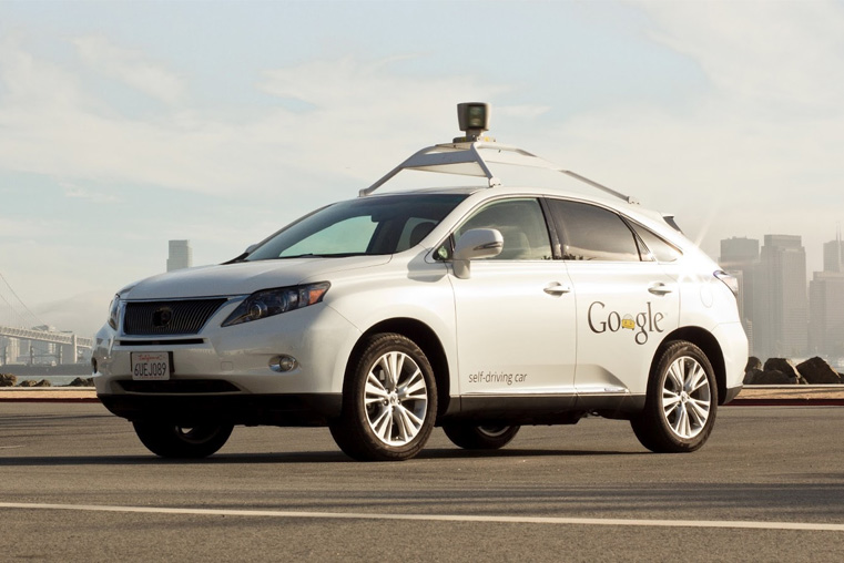 Google Lexus Self Driving