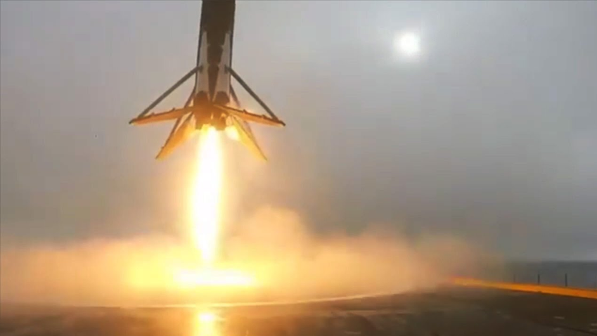 SpaceX Falcon Landing