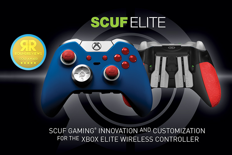scuf elite xbox one wireless controller review roundreviews. Black Bedroom Furniture Sets. Home Design Ideas