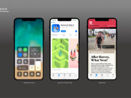 iOS11 Mockup Featured
