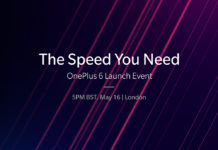 OnePlus 6 Launch Invite